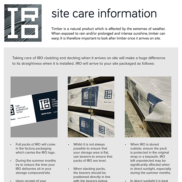 Site Care Information